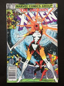 Uncanny X-Men #164 (newstand edition)
