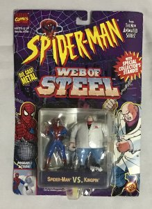 ToyBiz Superhero die cast metal model Spider-Man vs. Kingpin