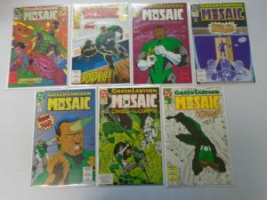 Green Lantern Mosaic run #1-14 avg 8.0 VF (1992)