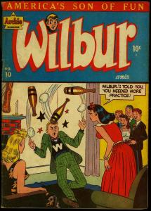 Wilbur #10 1946- Archie Comics- Katy Keene- Bill Woggon FN