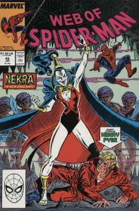 Web of Spider-Man, The #46 FN; Marvel | save on shipping - details inside
