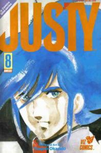 Justy #8 VF/NM; Viz | save on shipping - details inside