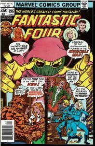 Fantastic Four #196, 9.0 or Better - 1st Full Apearance Dr. Doom Clone