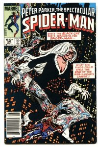 Spectacular Spider-Man #90 1984-  1st BLACK COSTUME Black Cat