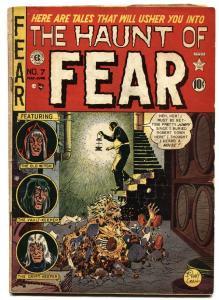 Haunt Of Fear #7 1951-EC-Johnny Craig-Ingles-pre-code horror-vg