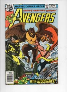 AVENGERS #179, VF, 1st BloodHawk, Thor, 1963 1979, more in store