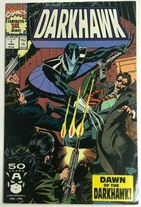 DARKHAWK#1 VF 1991 MARVEL COMICS