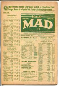 MAD #19 1955-EC-Wally Wood-Bill Elder-Mickey Mouse parody-Jack Davis-G/VG