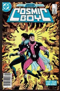 Cosmic Boy #2 (Jan 1987, DC) 8.0 VF