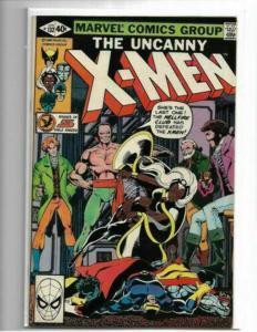 Uncanny X-men # 132 - VF- BYRNE/CLAREMONT - HELLFIRE CLUB - BRONZE AGE KEY