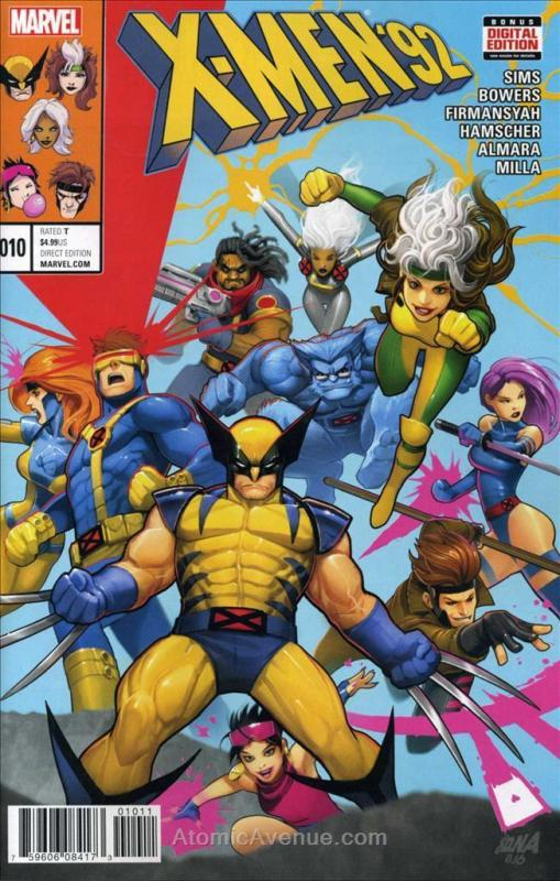 X-Men '92 (2nd Series) #10 VF/NM; Marvel | save on shipping - details inside