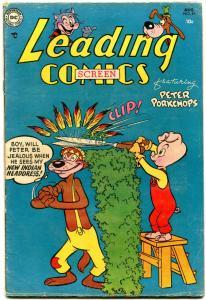 Leading Comics #69 1954- DC Funny Animals- Peter Porkchops- Bo Bunny FN-