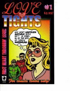 Lot Of 2 Comic Books SLG Love in Tights #1 and Flatline Envictus #3 ON12