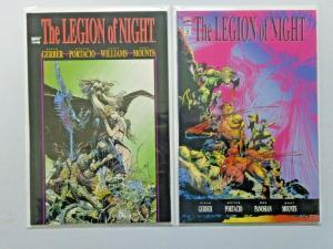 Legion of Night set #1 to #2 - 8.0 - 1991