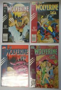 Wolverine Saga, Set:#1-4, 8.0/VF (1989)