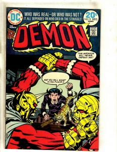 The Demon # 15 VF DC Comic Book Jack Kirby Bronze Age Etrigan Fourth World RS1
