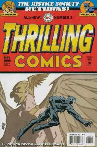 THRILLING COMICS #1 NM- A79681