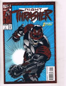 Lot Of 4 Night Thrasher Marvel Comic Book # 1 2 3 4 Super Heroes TW33