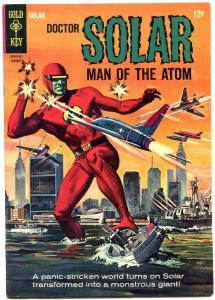 DOCTOR SOLAR MAN OF THE ATOM #10 1965-GOLD KEY SCI FI F/VF