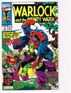Warlock And The Infinity Watch # 17 Marvel Comic Books Hi-Res Scans WOW!!!!!! S2