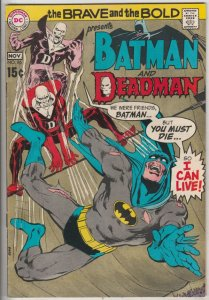 Brave and the Bold, The #86 (Nov-69) NM- High-Grade Batman, Deadman