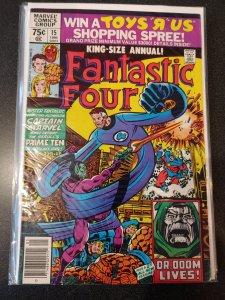 FANTASTIC FOUR #15 FF ANNUAL HIGH GRADE VF+
