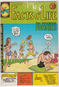 Facts O' Life Sex Education Funnies #1 (Jan-72) VG+ Affordable-Grade Fat Fred...