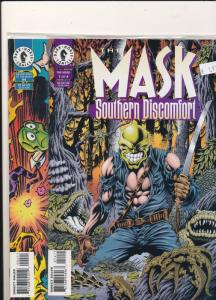 2 COMICS The MASK #1of4 & Adventures of the MASK #4 F/VF (SIC387)