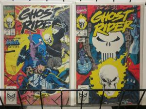 GHOST RIDER (1990)5(1ST PRT),6 Punisher story arc