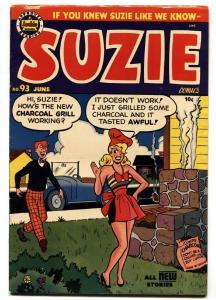 SUZIE #93 comic book 1949-ARCHIE COMICS-GINGER-KATY KEENE-vf-