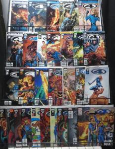 MARVEL KNIGHTS 4 (Marvel, 2004) #1-30 VF-NM COMPLETE! Edgy Fantastic Four!