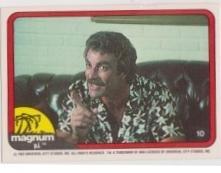 1983 Donruss MAGNUM P.I. #10