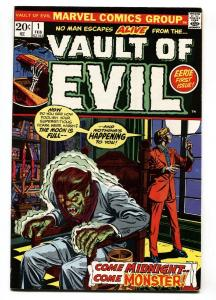 Vault of Evil #1 1973- Marvel Bronze Age Horror VF