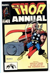THOR ANNUAL #11-First appearance of Eitri-1983-Marvel-VF