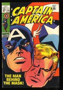 Captain America #114 FN+ 6.5