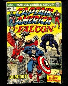 Captain America #171 Black Panther!