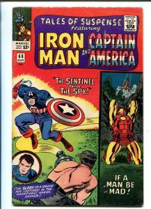 TALES OF SUSPENSE #68 1965-MARVEL-CAPT AMERICA-JACK KIRBY-IRON MAN-DON HECK-fn