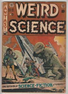 Weird Science #15 (Sep-52) VG+ Affordable-Grade