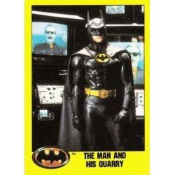 1989 Batman The Movie Series 2 Topps THE MAN AND HIS QUARRY #134