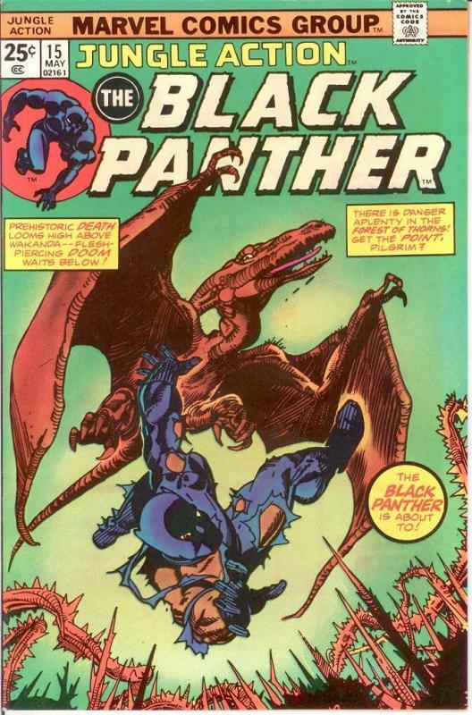 JUNGLE ACTION (1972) 15 VF-NM May 1975 COMICS BOOK