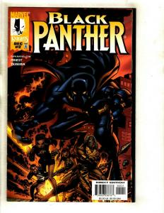 Lot Of 6 Black Panther Marvel Comic Books # 2 4 5 6 7 8 Wakanda GK2