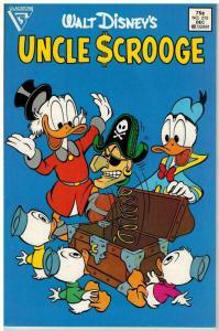 UNCLE SCROOGE 212 F-VF Dec. 1986 COMICS BOOK