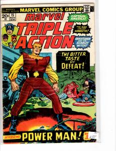 Marvel Triple Action (1972) 15 Good (2.0)