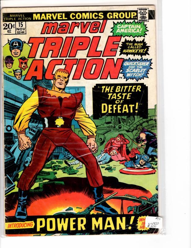 Marvel Triple Action (1972) 15 Good (2.0)