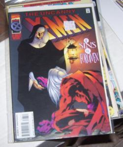 UNCANNY X-MEN  327 1995 marvel magneto / joseph