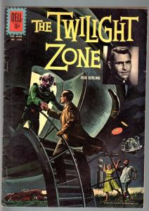 TWILIGHT ZONE-FOUR COLOR #1288-DELL-REED CRANDALL-GEORGE EVANS-VG VG