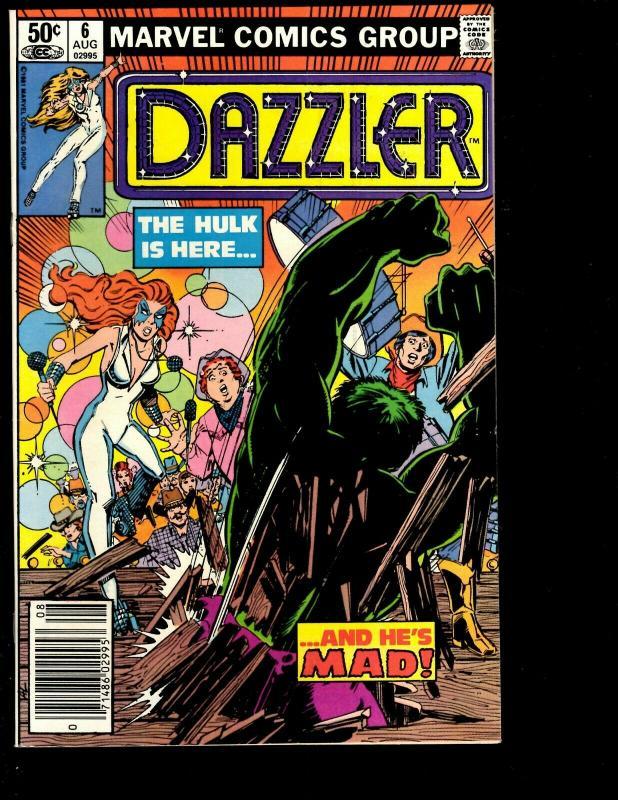 Lot of 11 Dazzler Marvel Comic Books # 1 2 3 4 5 6 7 8 9 10 11 Spider-Man JF10