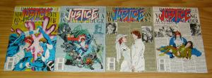 Justice: Four Balance #1-4 VF/NM complete series - new warriors spinoff set lot