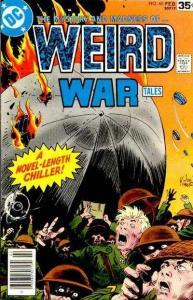 Weird War Tales (1971 series) #60, VF (Stock photo)