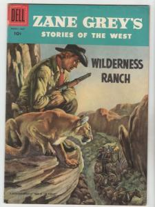 Zane Grey's Stories of the West #33 (Mar-57) VF+ High-Grade